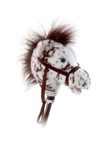 "Easy Ride 'Em 33"" Appaloosa Horse on a Stick"