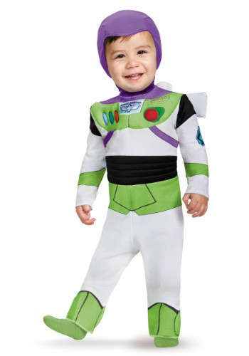 Click Here to buy Deluxe Buzz Lightyear Baby Costume from HalloweenCostumes, USA Funds & Shipping