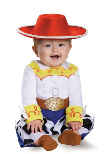 Click Here to buy Deluxe Baby Jessie Costume from HalloweenCostumes, CDN Funds