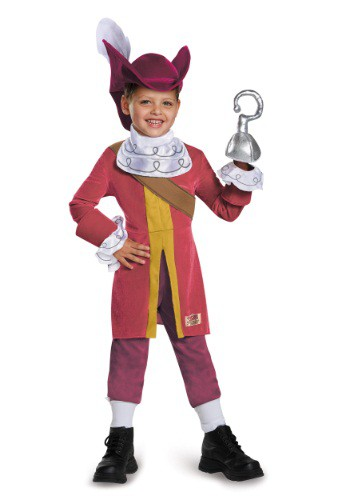 Toddler Deluxe Captain Hook Costume By: Disguise for the 2015 Costume season.