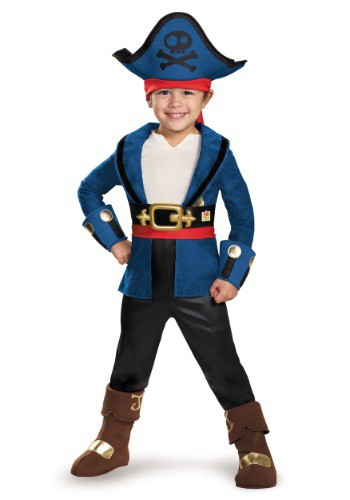 Toddler Deluxe Captain Jake Costume By: Disguise for the 2015 Costume season.