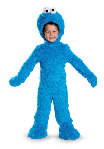 Click Here to buy Baby/Toddler Cookie Monster Plush Costume from HalloweenCostumes, USA Funds & Shipping