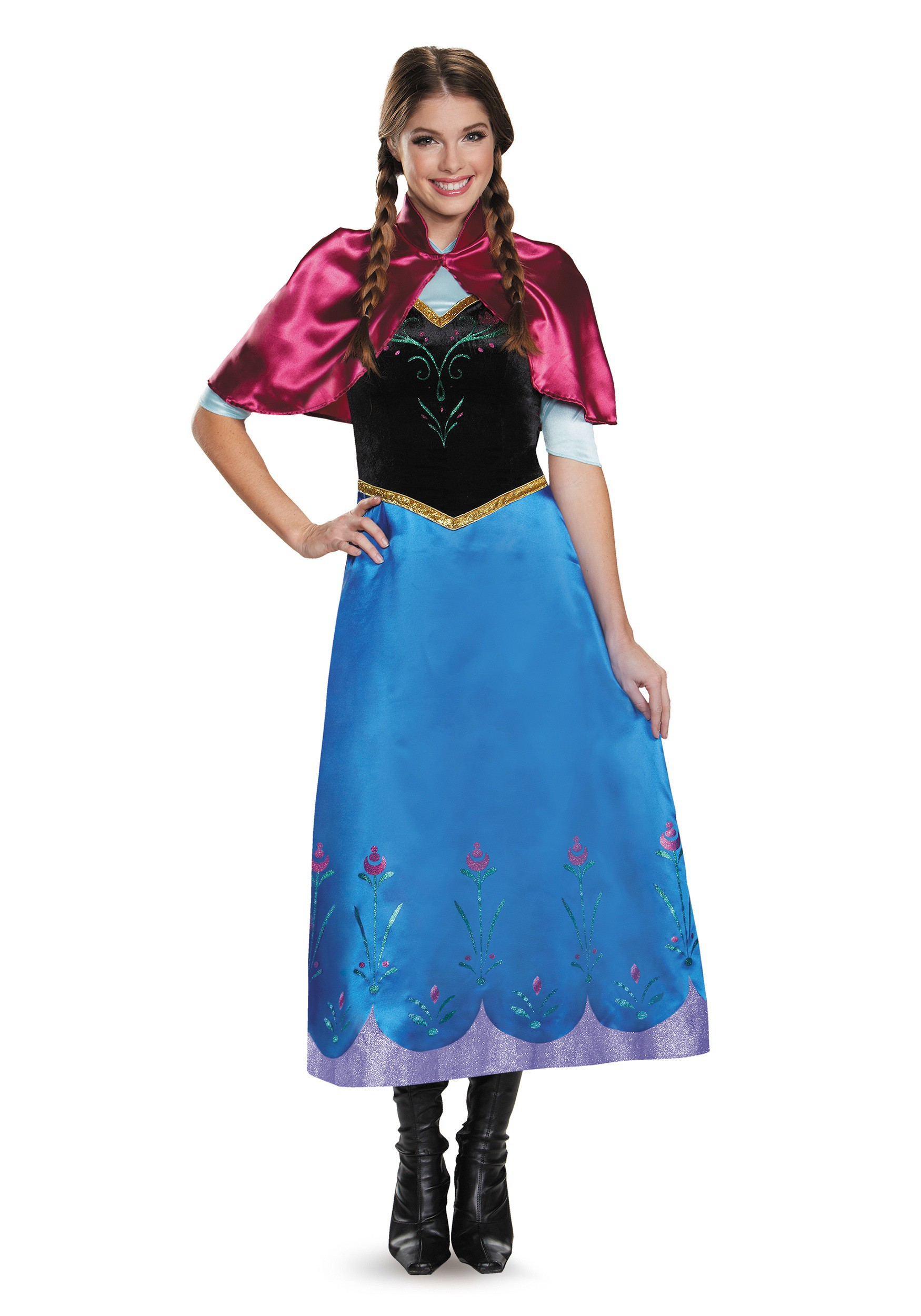 Frozen Traveling Anna Deluxe Costume