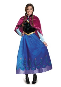 Frozen Traveling Anna Prestige Costume  sc 1 st  Halloween Costumes & Disney Costumes For Adults u0026 Kids