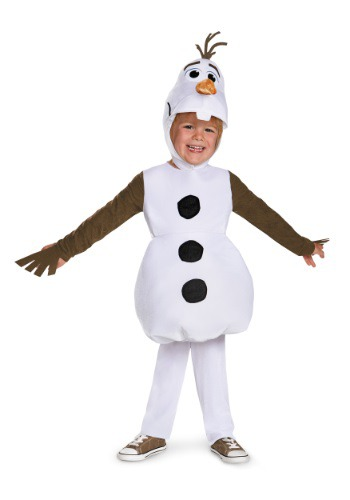 Click Here to buy Baby & Toddler Frozen Classic Olaf Costume from HalloweenCostumes