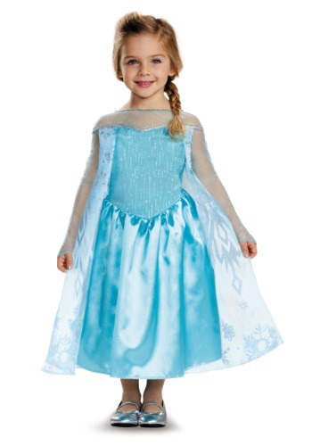 Click Here to buy Frozen Elsa Classic Toddler Costume from HalloweenCostumes, CDN Funds