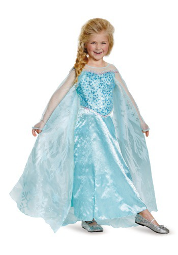 Girls Frozen Elsa Prestige Costume By: Disguise for the 2015 Costume season.