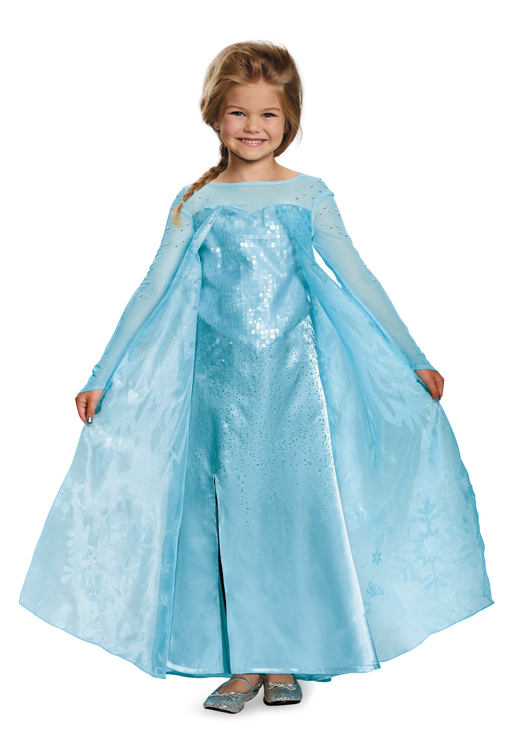 sc 1 st  Halloween Costumes & Girls Frozen Elsa Ultra Prestige Costume