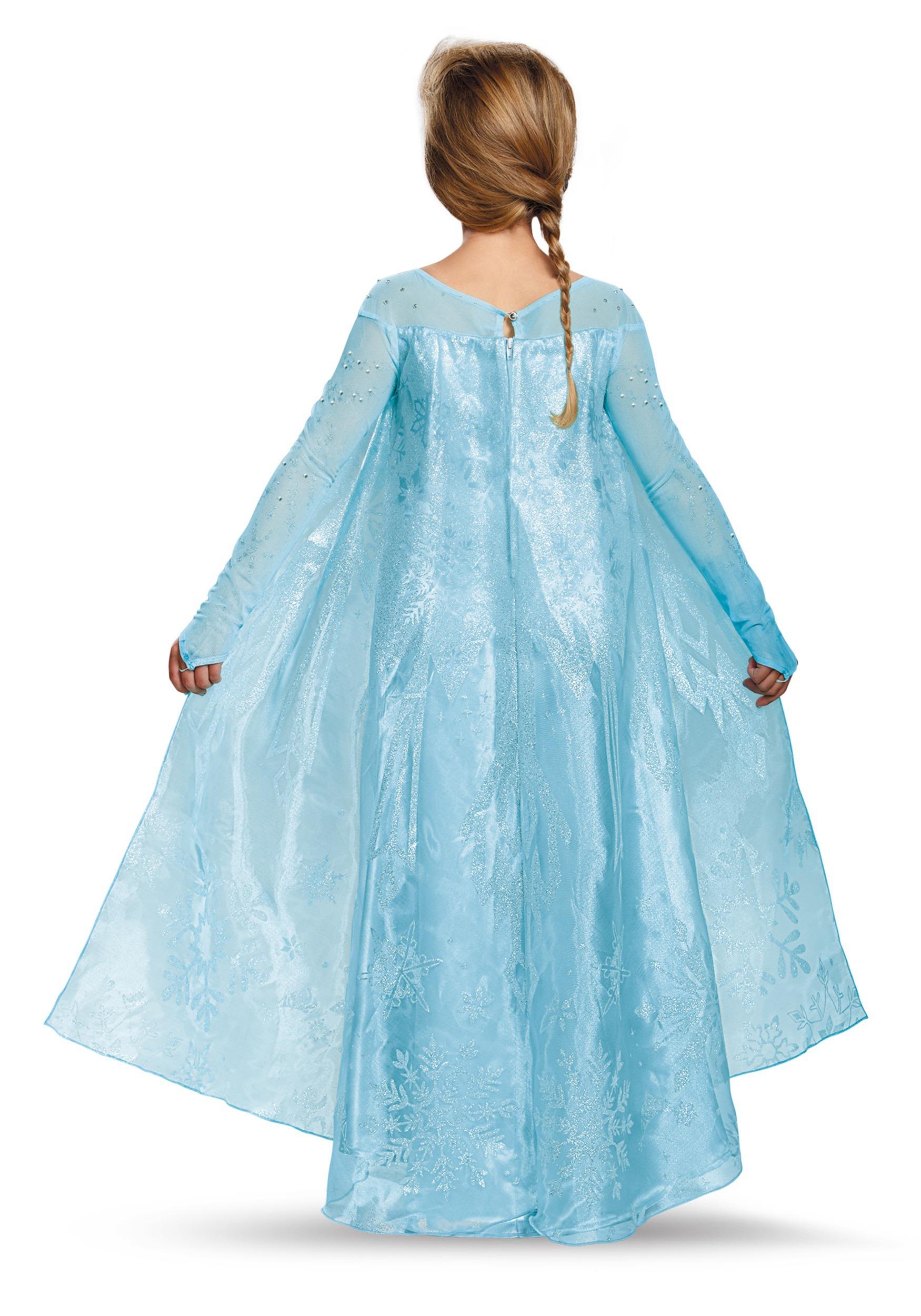 sc 1 st  Halloween Costumes & Girls Frozen Elsa Ultra Prestige Costume