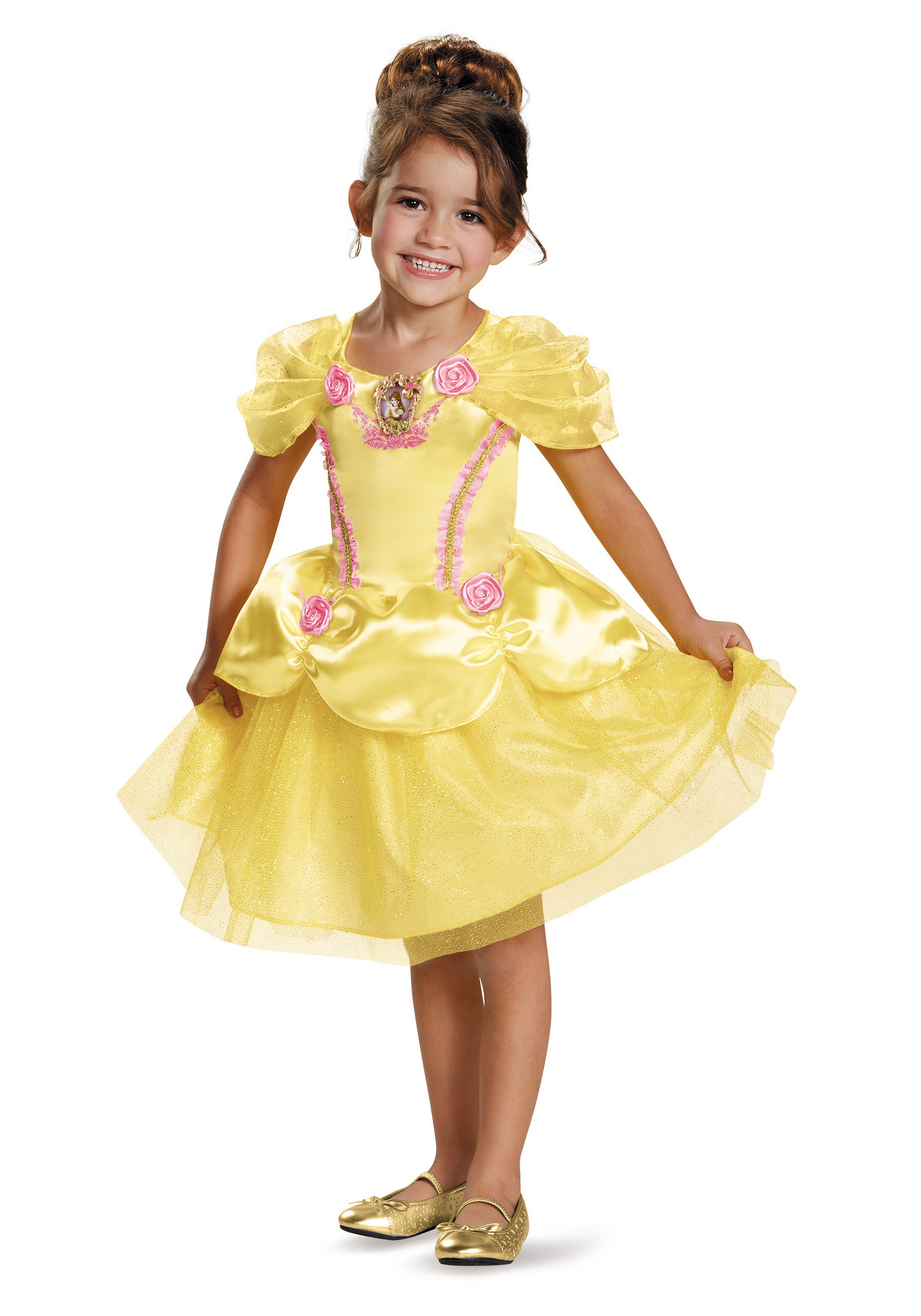 BELLE CLASSIC TODDLER COSTUME Beauty and the Beast Yellow Dress Kids