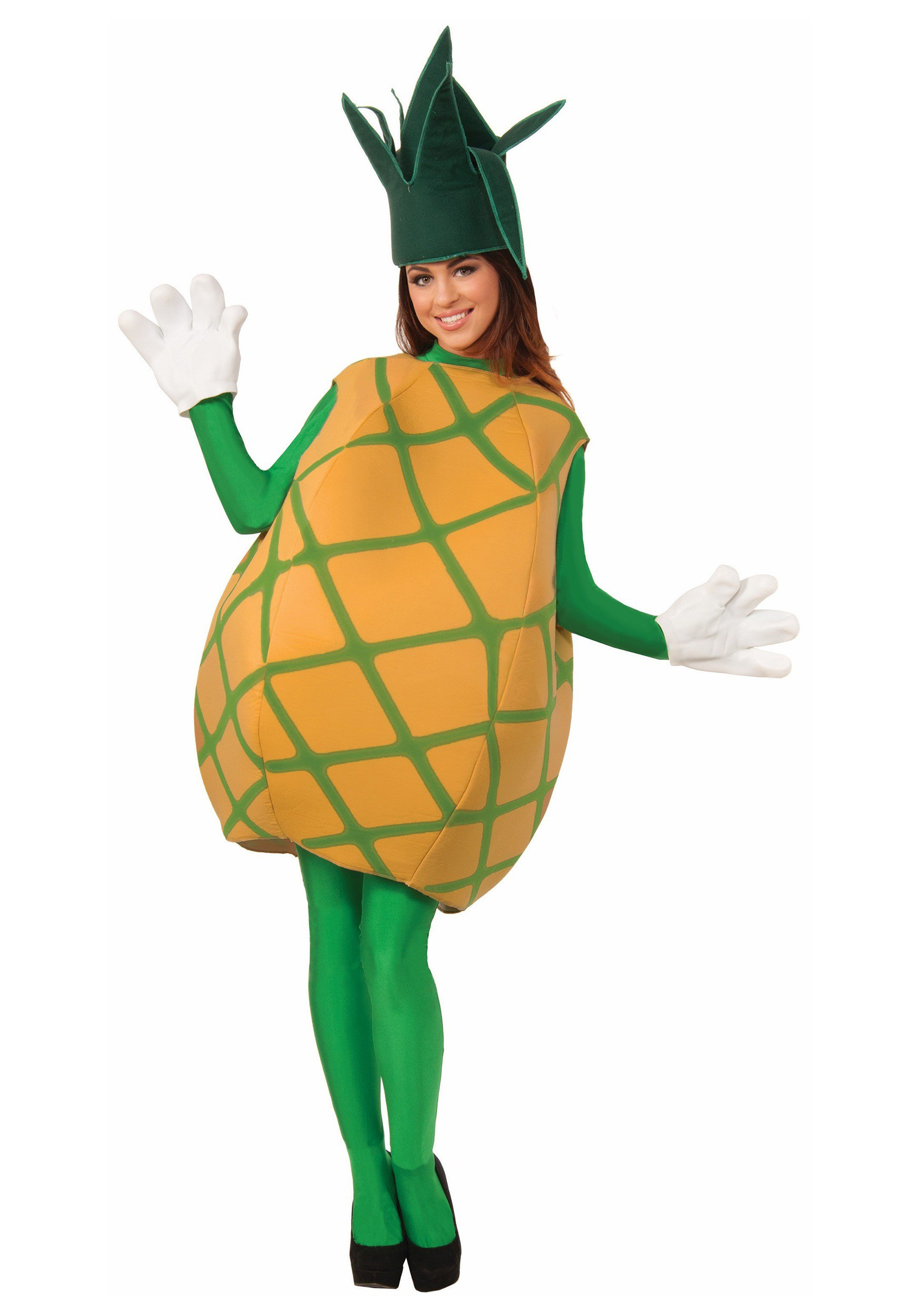 Adult Pineapple Costume  sc 1 st  Halloween Costumes 2018 at CostumeVip.com | Halloween Costume Ideas 2018 & Hawaiian Costumes