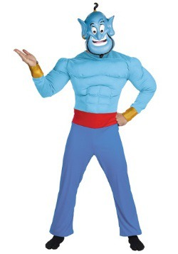 Mens Adult Genie Costume