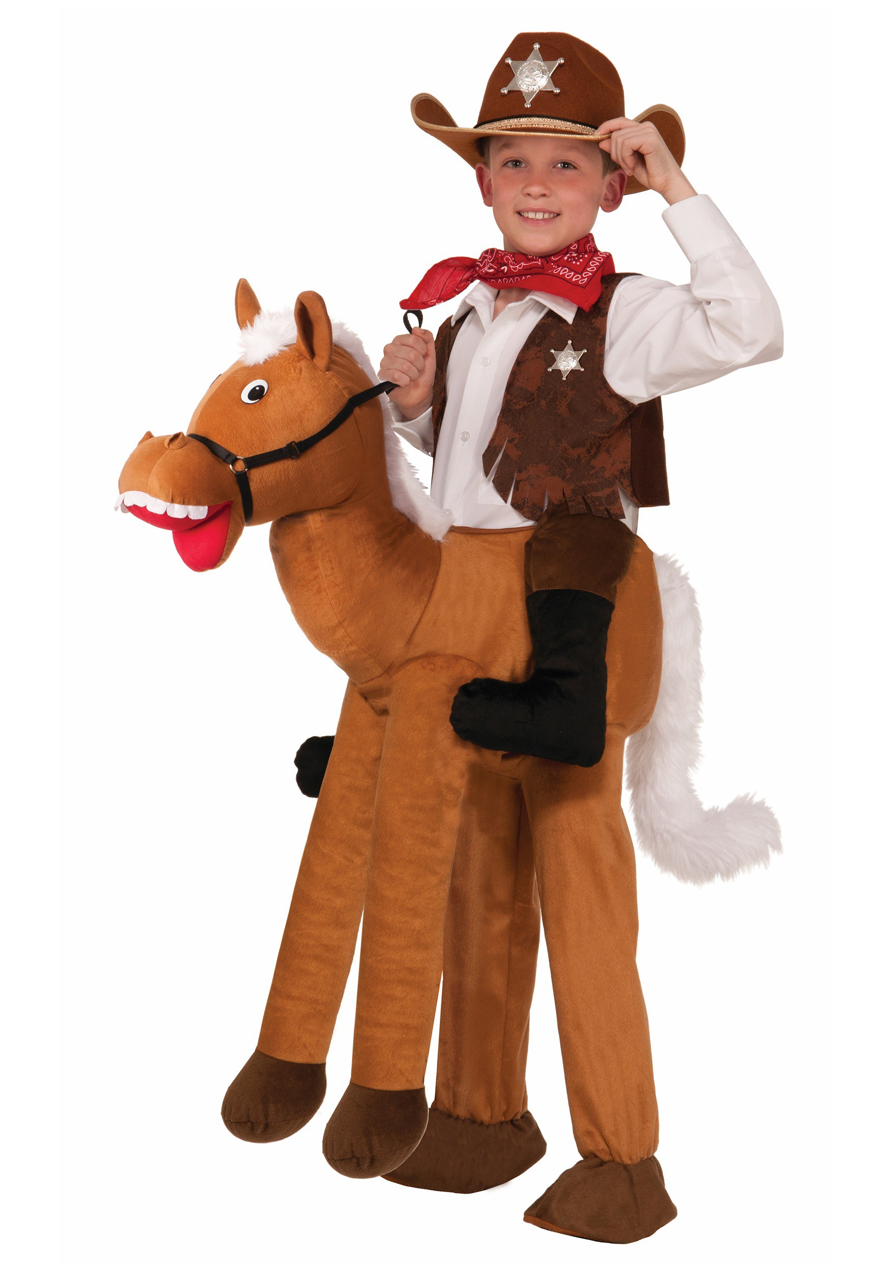 Child Ride A Horse Costume