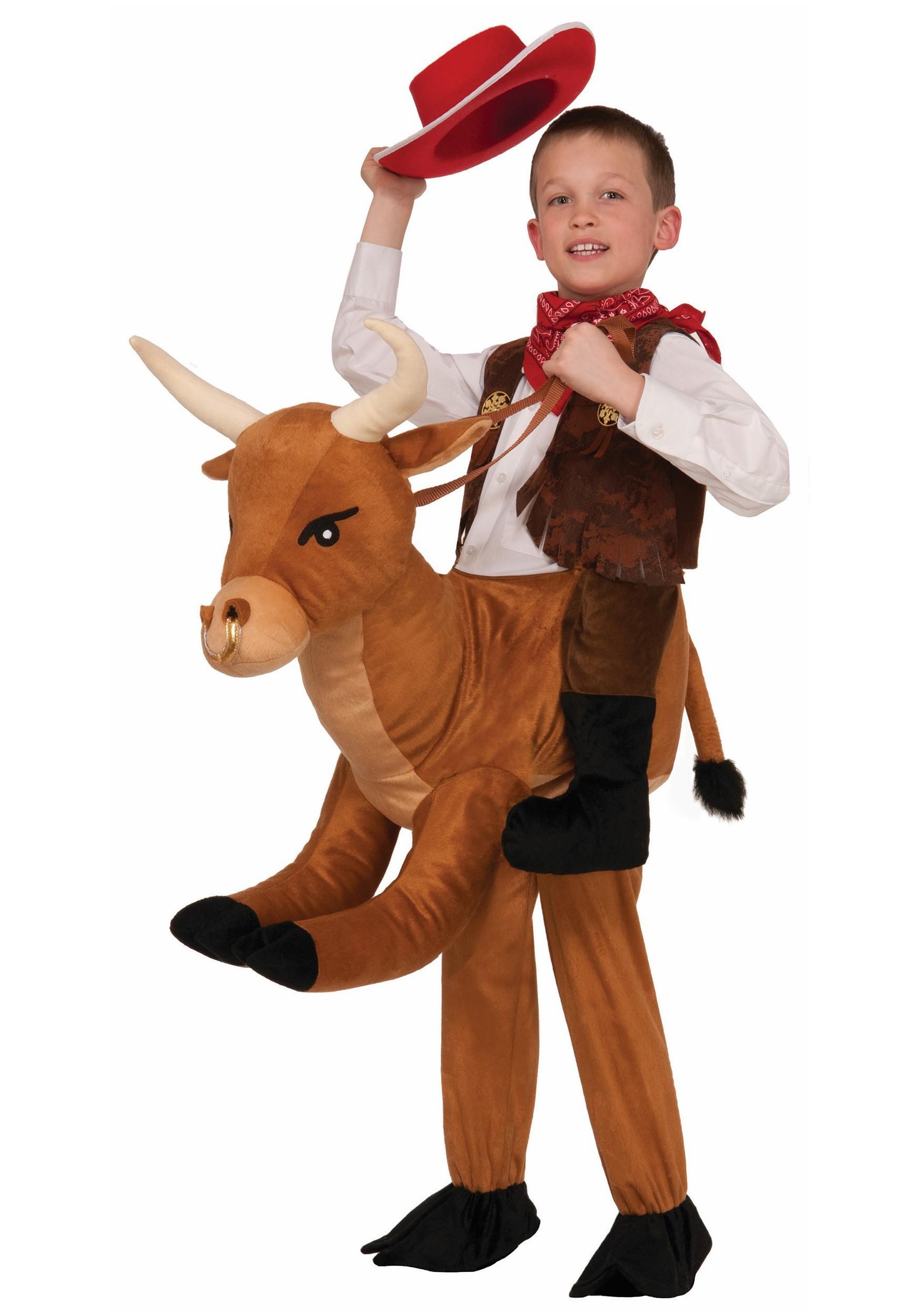 sc 1 st  Halloween Costumes & Child Ride A Bull Costume