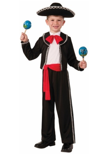 Click Here to buy Boys Mariachi Amigo Costume from HalloweenCostumes, USA Funds & Shipping