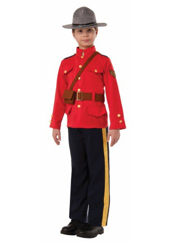 Click Here to buy Boys Canadian Mountie Costume from HalloweenCostumes, USA Funds & Shipping