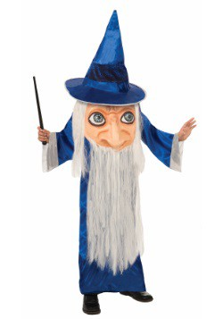 Child Big Face Wizard Costume
