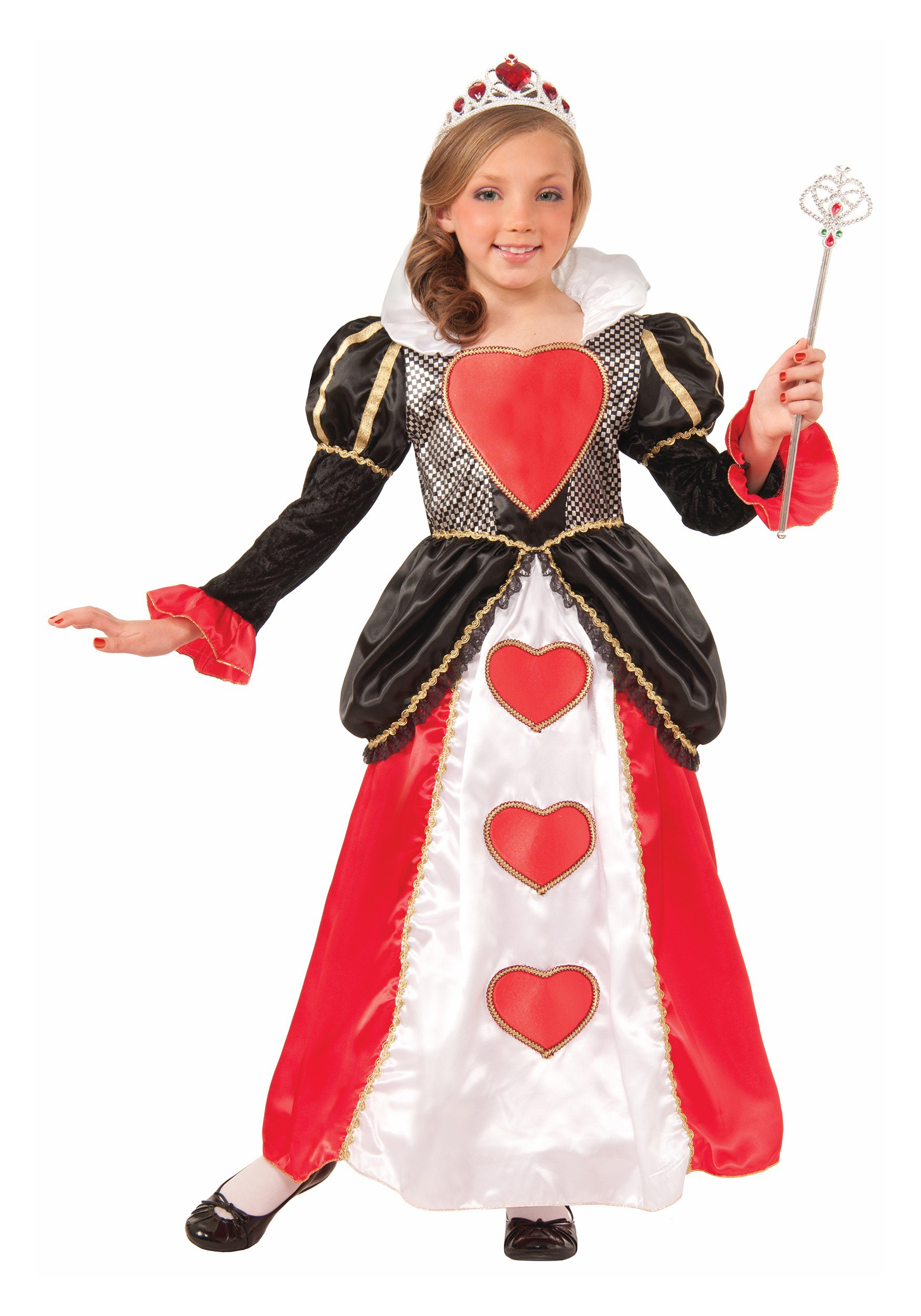 Girls Sweetheart Queen Costume