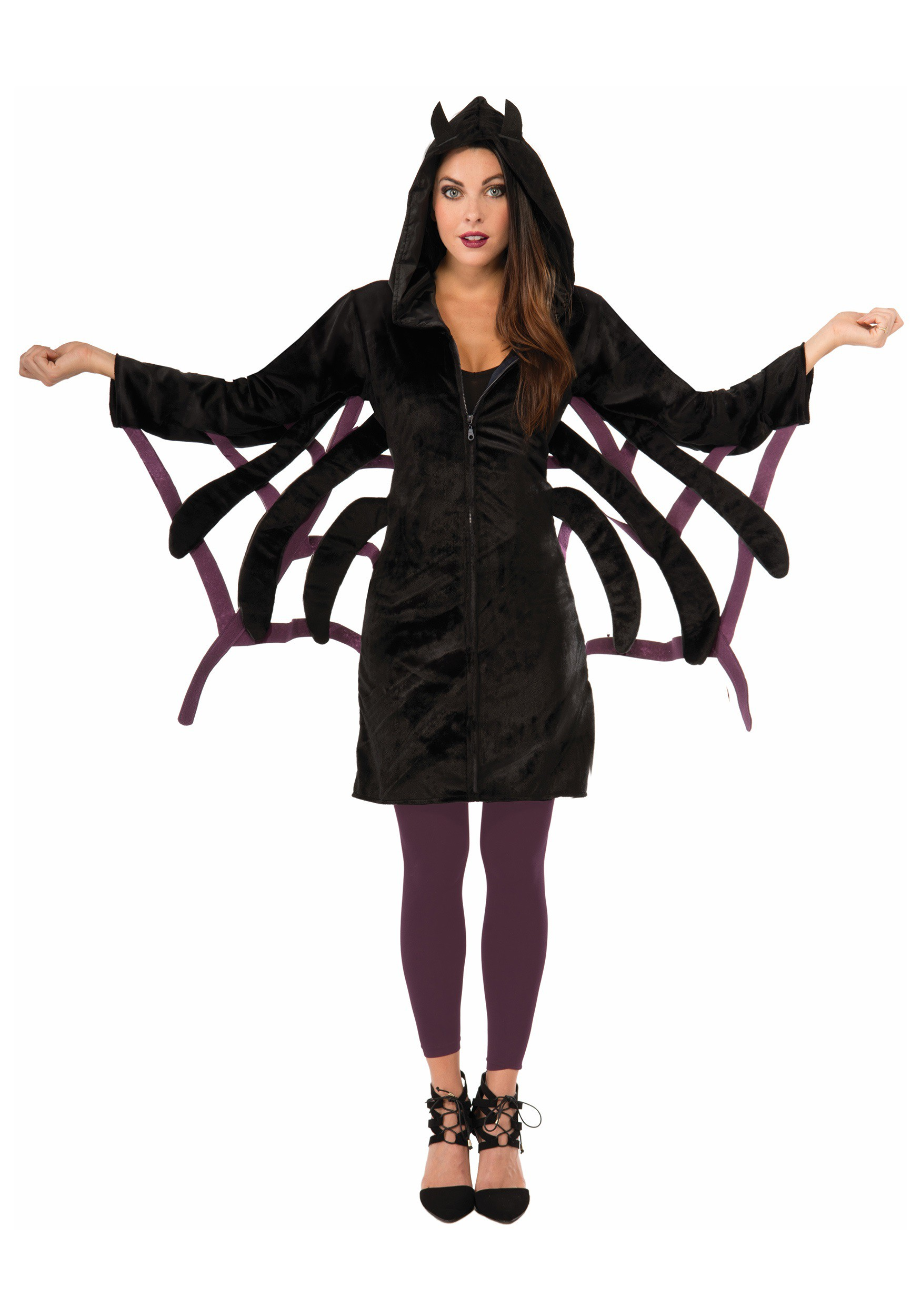 Women S Fashion Clothes Missguided: Women's Comfy Spider Hoodie