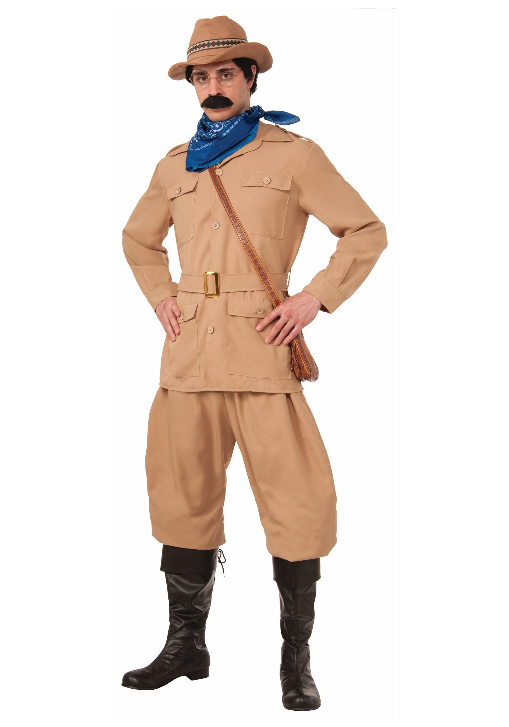 Men Theodore Roosevelt Costume