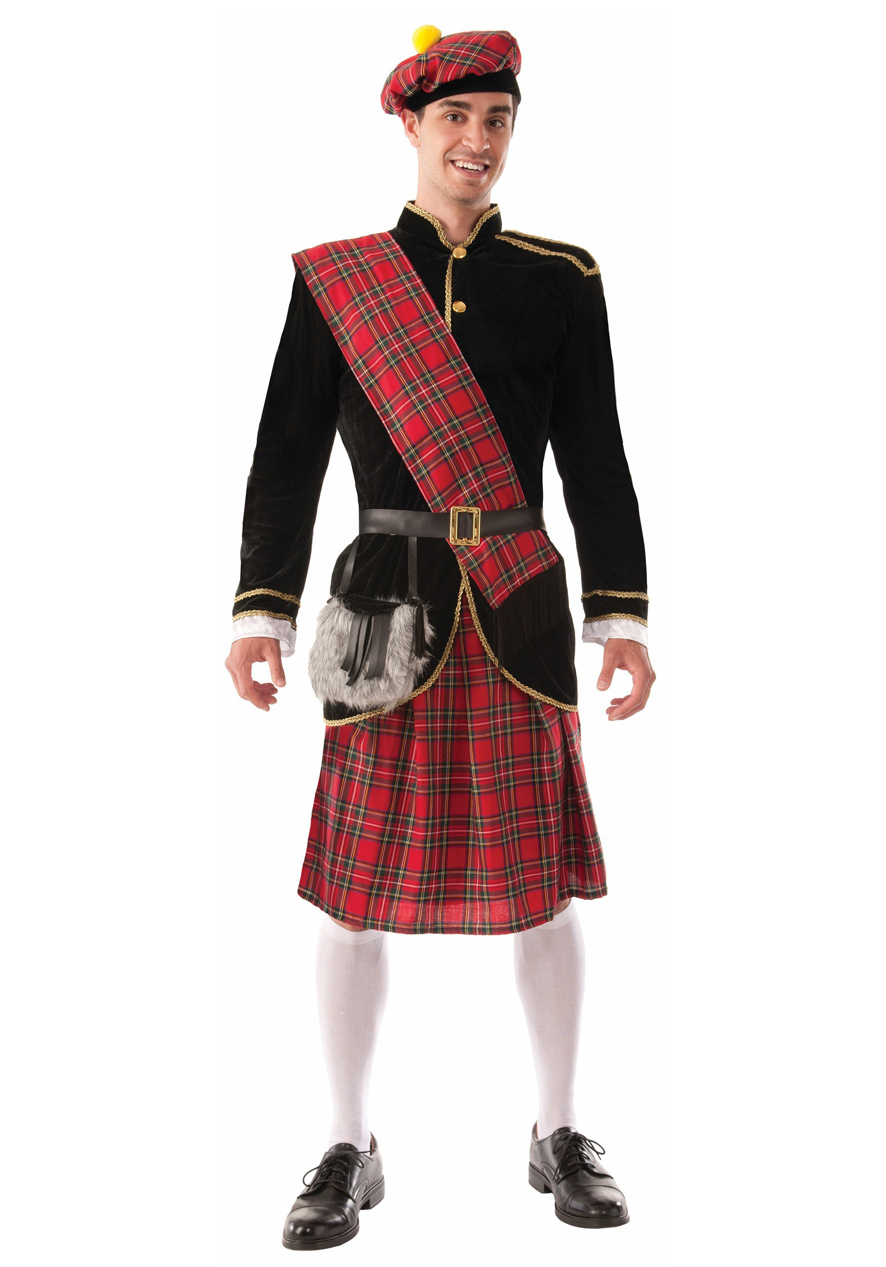 Adult Scotsman Costume - Costume