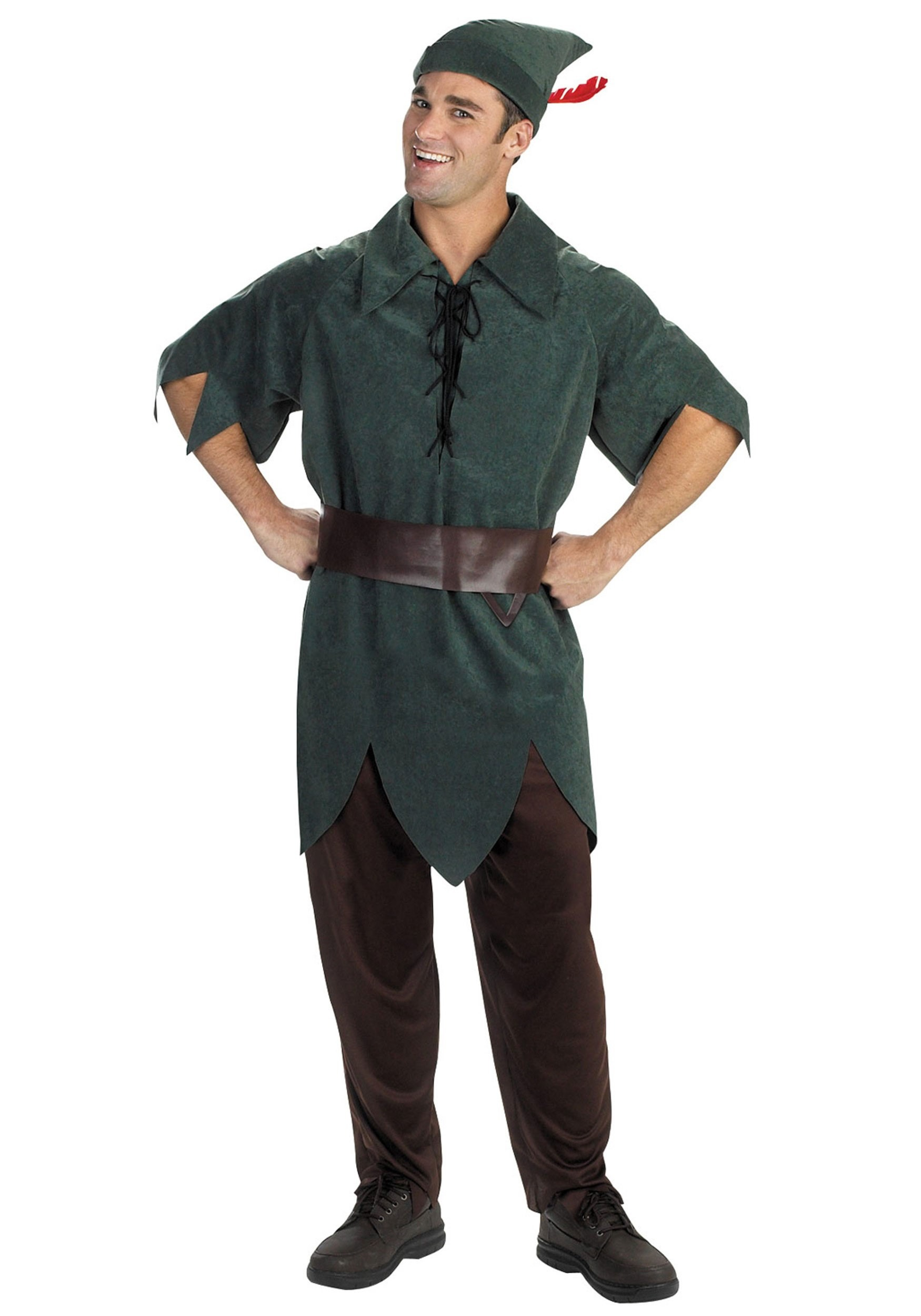 The drive adult peter pan outfit