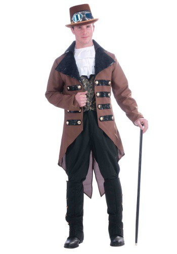 Mens Steampunk Jack Costume By: Forum Novelties, Inc for the 2015 Costume season.