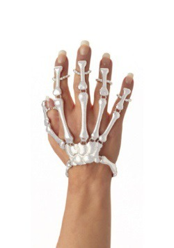 Skeleton Hand Bracelet Main Photo