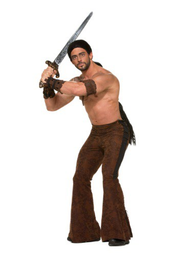 Click Here to buy Mens Medieval Warrior Pants from HalloweenCostumes, USA Funds & Shipping
