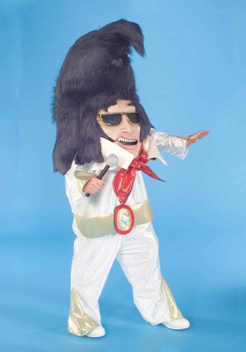 Click Here to buy Adult Rock And Roll King Parade Mascot Costume from HalloweenCostumes, CDN Funds
