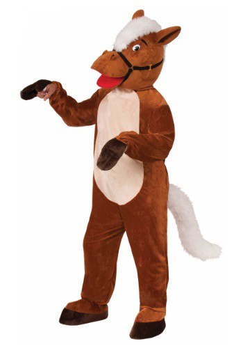 Adult Henry The Horse Mascot Costume By: Forum Novelties, Inc for the 2015 Costume season.