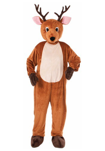 Click Here to buy Adult Reindeer Mascot Costume from HalloweenCostumes, CDN Funds