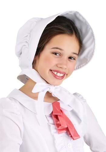 Child White Pioneer Bonnet Update