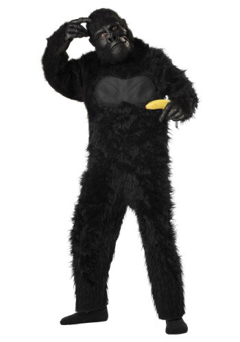 Click Here to buy Kids Deluxe Gorilla Costume from HalloweenCostumes, CDN Funds