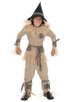 Kids Silly Scarecrow Costume