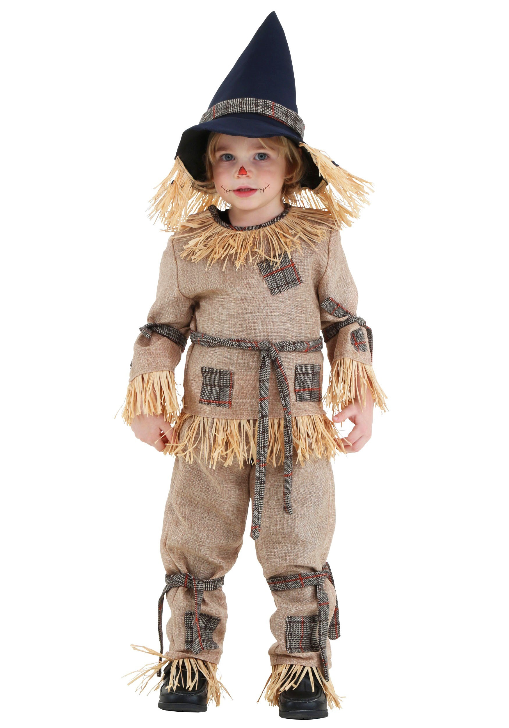 toddler silly scarecrow costume