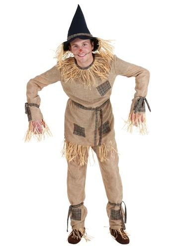 Classic Scarecrow Costume for Adults