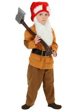 Toddler Brown Dwarf Costume