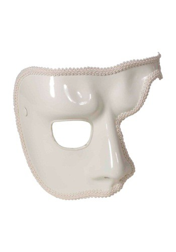 Adult White Phantom Mask By: Forum Novelties, Inc for the 2015 Costume season.