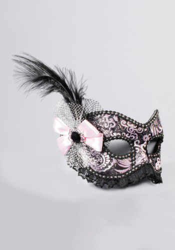 Adult Venetian Showgirl w/Lace Mask