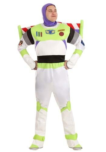 Click Here to buy Adult Deluxe Buzz Lightyear Costume from HalloweenCostumes, USA Funds & Shipping
