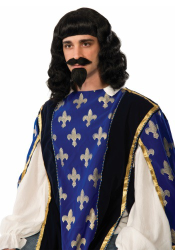 Adult Musketeer Wig & Goatee Set By: Forum Novelties, Inc for the 2015 Costume season.