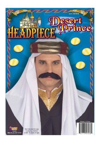 Adult Arab Headpiece By: Forum Novelties, Inc for the 2015 Costume season.