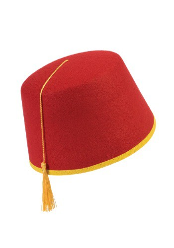 Adult Red Fez Hat By: Forum Novelties, Inc for the 2015 Costume season.