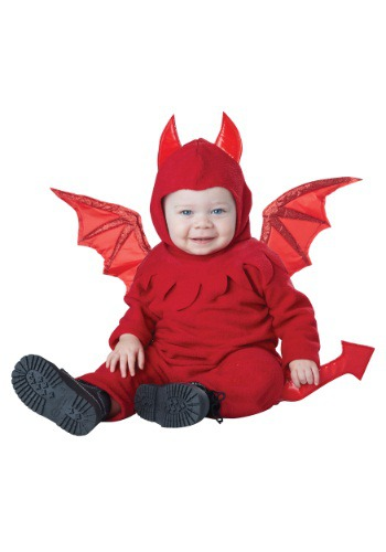 Click Here to buy Baby/Toddler Lil Devil Costume from HalloweenCostumes, CDN Funds