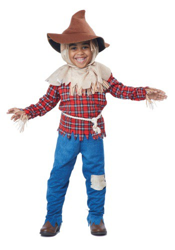 Click Here to buy Toddler Harvest Time Scarecrow Costume from HalloweenCostumes, CDN Funds