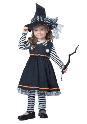 Crafty Little Witch Costume For Toddler