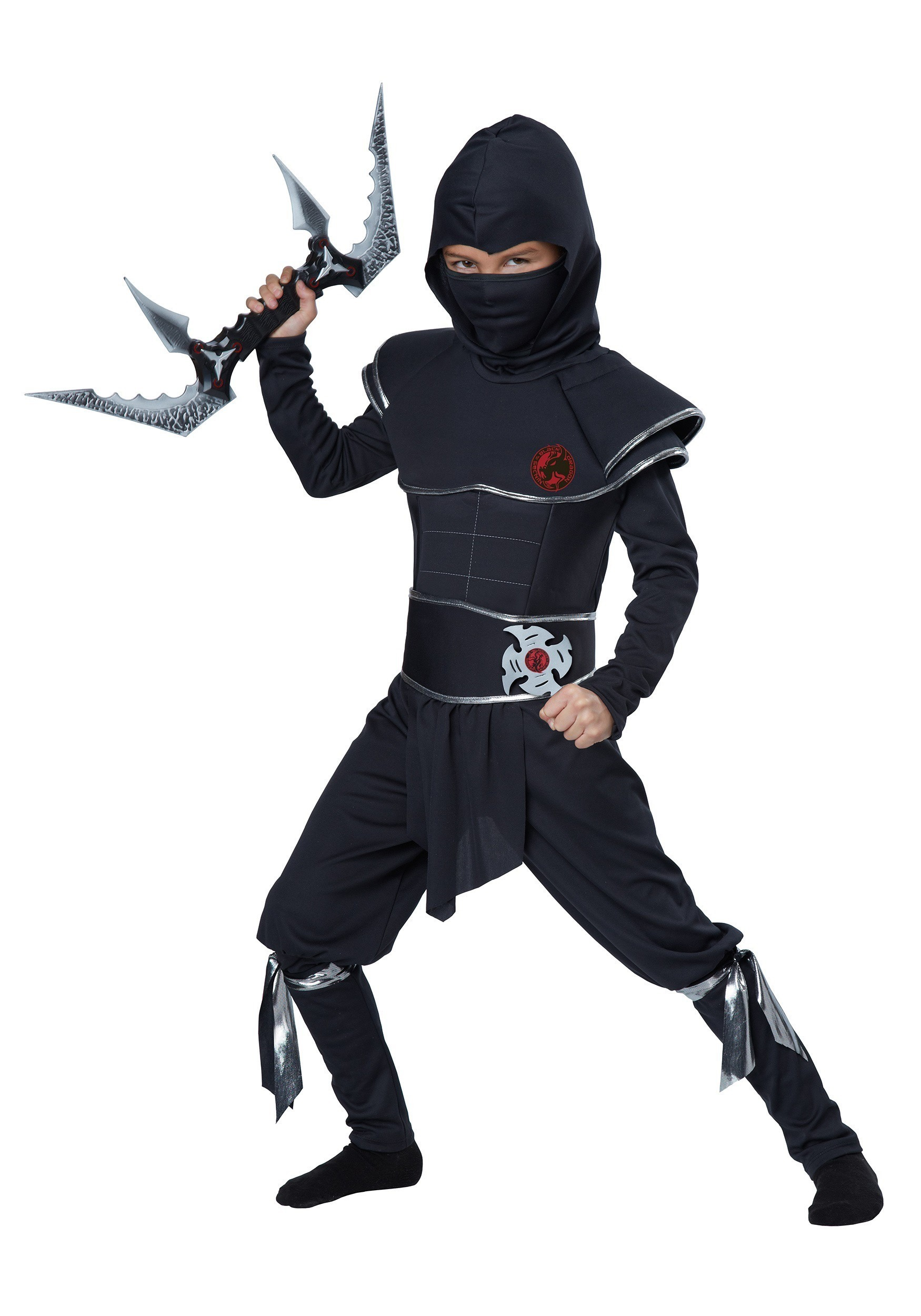 ninja costumes - adult, kids ninja halloween costume