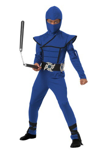 Child Blue Stealth Ninja Costume By: California Costume Collection for the 2015 Costume season.