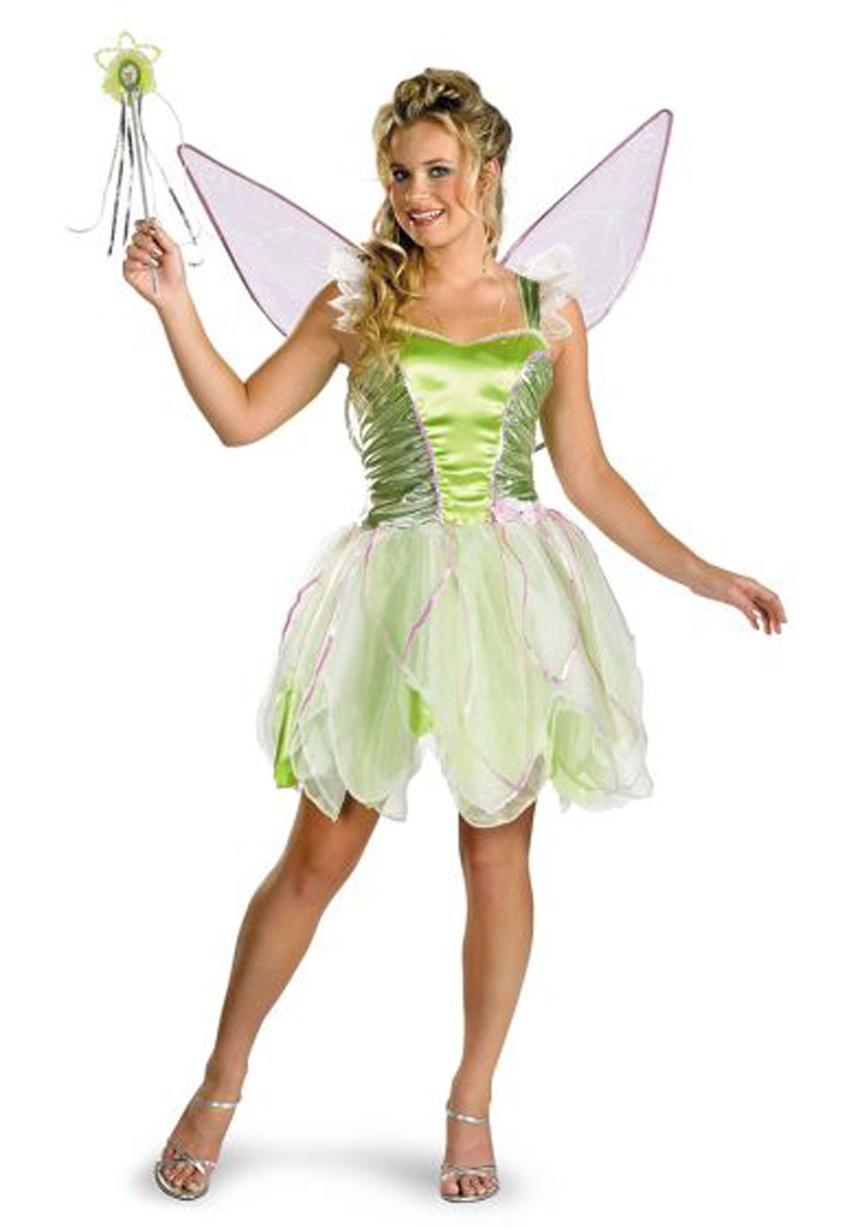 Adult tinkerbell halloween costume